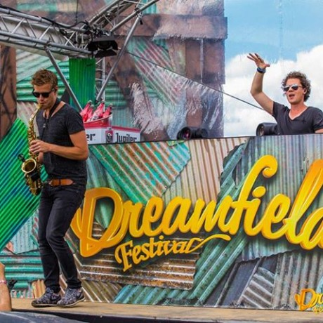Wayland & Falko on Sax Dreamfields 2015