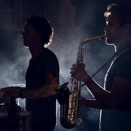 Wayland & Falko on Sax